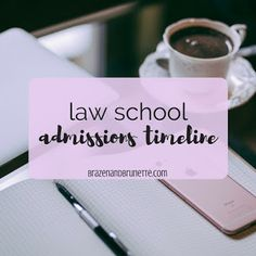 Law school admissions timeline. What to do your freshman year of college to prepare for law school. What to do your sophomore year of college to prepare for law school. What to do your junior year of college to prepare for law school. What to do your senior year of college to prepare for law school. | brazenandbrunette.com