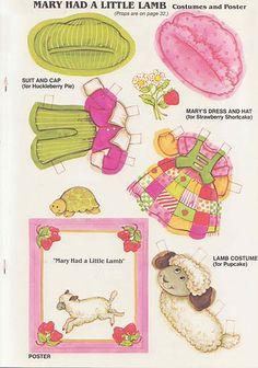 Tarta de Fresa era el personaje protagonista de una serie de postales de la compañía American Greetings, Corp. de C...