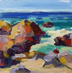 Page Railsback-Paintings: UNSPOILED