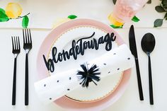 Favorite Party Theme (how fun is this bright lemon-and-pink-themed Galentine's Day Soirée via One Stylish Party?)