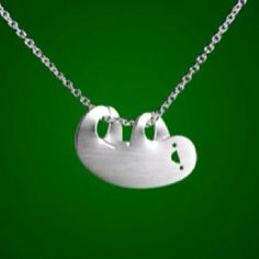 sloth! I need this necklace!