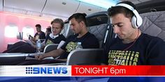 3 flights and 26 hours later, our @Shannon Dawson arrive in #Brazil for the @Fifa World Cup. @tomsteinfort reports #9NewsAt6 pic.twitter.com/ilsSXdkicn