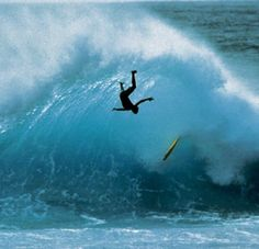 .off the lip...not