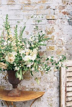 Brides: Wedding Flowers and Arrangements with Foxgloves