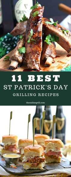 Here are some of the best St Patrick's BBQ recipes from the rest. Including Guinness BBQ sauce, Irish corned beef recipes, Guinness pork ribs, Irish lamb, and more. Irish Corned Beef Recipe, Corned Beef Recipes, Grilling Recipes, Pork Recipes, Cooking Recipes, Grilling Ideas, Smoked Corned Beef, Ratatouille, Saint Patrick