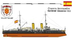 Crucero Acorazado Cardenal Cisneros 1902