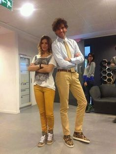 """Mika being """"so tall & gorgeous"""""""