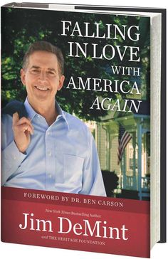 Cover of Jim DeMint's Falling in Love With America Again