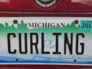 I know there has to be other plates out there... here is one curling plate...