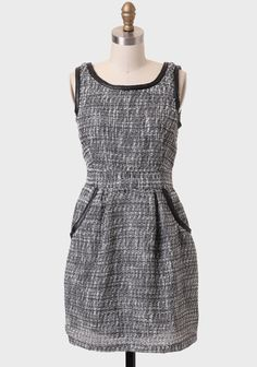 Oxford Street Tweed Dress By Tulle at #Ruche @Ruche