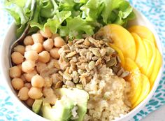 Springtime Millet Bowls with Crunchy Spicy Seeds | gluten free | vegan | Thoroughly Nourished Life