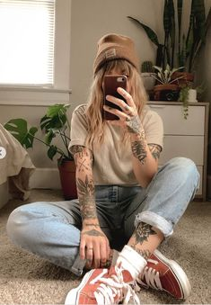 Mode Outfits, Girl Outfits, Fashion Outfits, Tomboy Fashion, Girl Fashion, Surfergirl Style, Looks Vintage, Outfit Goals, Cute Casual Outfits