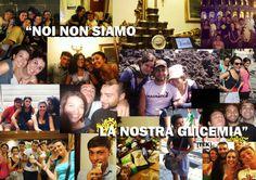 """""""An ordinary diabetic weekend in a diabetic life"""" svolto a Roma dal 24 al 26 agosto 2012 è stato il primo incontro della community  """"An ordinary day in a diabetic life"""" in cui ragazzi, adolescenti e non, si sono incontrati per condividere assieme dubbi e problematiche riguardanti il diabete, ma anche la follia e la spensieratezza che caratterizza la gioventù! Perchè """"NOI NON SIAMO LA NOSTRA GLICEMIA"""". Venchi ha reso questa esperienza più dolce ancora."""