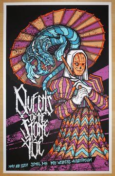 2014 Queens of the Stone Age - St. Paul Poster by Brad Klausen