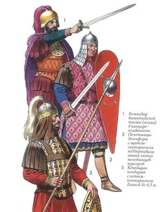 Byzantine Army Uniforms