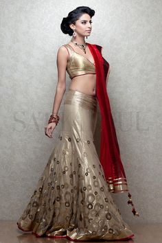 Shop online at http://www.satyapaul.com/satyapaul/shop/bridal-wear/bridal-lehengas/esw2518-00 and visit us at http://www.facebook.com/SatyaPaulIndia