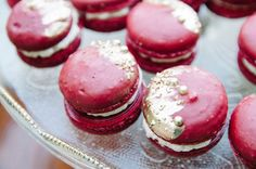 Marsala macarons   Tulip + Rose Photography   see more on: http://burnettsboards.com/2015/11/manets-luncheon-grass-wedding-inspiration/
