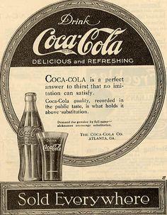 110 Anúncios Publicitários antigos da Coca-Cola – Criatives | Blog de Arte, Design, Criatividade e Inspiração