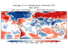 Can global warming be real if it's cold in the U.S.? Um… yes!  BY BRAD PLUMER January 6 at 2:44 pm