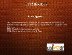 #Efemerides #Ubiktdf www.ubiktdf.com