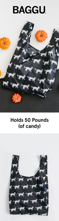 Our signature BAGGU Bags are the perfect festive candy holder.