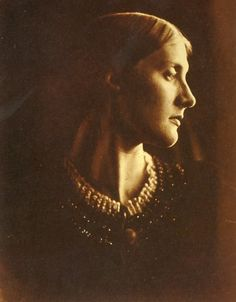 Julia Prinsep Stephen (née Jackson; formerly Mrs Duckworth) (1846-1895), Wife of Sir Leslie Stephen and mother of Virginia Woolf and Vanessa Bell. Photo by Julia Margaret Cameron