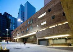 This performing arts centre in São Paulo by Brasil Arquitetura features huge concrete volumes lifted off the ground to create accessible public spaces.