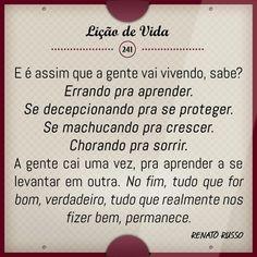 E assim a vida vai passando... #Liçãodevida #bomdia #sabado #belohorizonte #chuva #rain #manha #RenatoRusso #reflexão #trechos #pensamentos