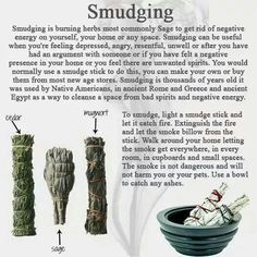 1000 images about sage cleansing on pinterest smudging How to get rid of bad energy