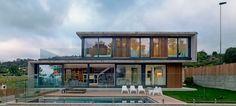 Diaz y Diaz Arquitectos - Vivienda Unifamiliar Canide - Arquitectura en hormigón y madera
