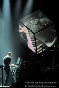 Dream Theater's Jordan Rudess in Portugal 2012