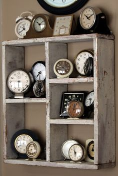 oh, to have the time to do some of these awesome projects!      get it?  'time'???  :) I want this.