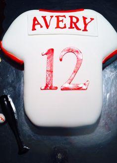 Baseball Jersey cake