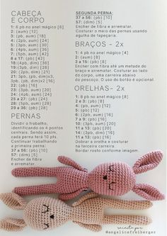 FREE Pug Amigurumi Pattern by The Crochet Jar – Amigurumi Crochet Free jar … Crochet Bear Patterns, Crochet Doll Pattern, Amigurumi Patterns, Crochet Dolls, Amigurumi Doll, Easter Crochet, Crochet Bunny, Crochet Animals, Free Crochet
