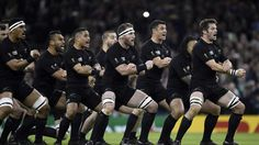 Le Haka des All Blacks face aux Français.