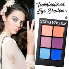 Step out of your comfort zone with eye shadows in all shades of the rainbow. Apply color to the crease or opt for a slightly more dramatic look that extends to the brow bone. If your feeling extra daring, apply shadow along the lower lash line too.
