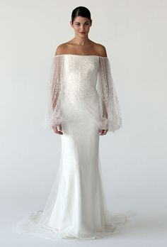 Marchesa wedding gown #weddings. Photo by Conde Nast Digital Studio. I don't care that it's a w-dress, it's sooo pretty!