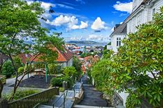 Bergen Norway - my hometown by osvend. Please Like http://fb.me/go4photos and Follow @go4fotos Thank You. :-)