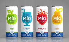 MIO - Alkon Group (milk shakes) | Design : Asgard Branding, St. Perersbourg, Russie (juillet 2015)