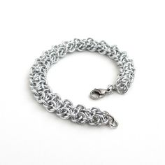 Vipera Berus chainmaille bracelet by TattooedAndChained, $45.00