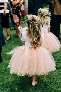 Your place to buy and sell all things handmade Blush Flower Girl Dresses, Tulle Flower Girl, Little Girl Dresses, Girls Dresses, Pageant Dresses, Party Dresses, Tutu En Tulle, Tulle Dress, Tutu Rock