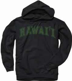 Hawaii Warriors Black Arch Hooded Sweatshirt by New Agenda. $29.99. Front pouch pocket. Rib knit cuffs and waist. Arch Hooded Sweatshirt. Screen print graphics. Drawstring hood. Comfort, style and school spirit all wrapped into one fine piece of Warriors apparel! This Hawaii Warriors Black Arch Hooded Sweatshirt features a screen print graphic of your team's wordmark to make sure you stand out as the Hawaii Warriors number one fan. Sweatshirt features front pocket to keep your...