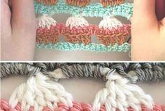 Crochet Cupcake Stitch - Free Pattern