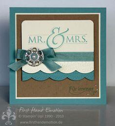 Glückwünsche an Mr und Mrs!