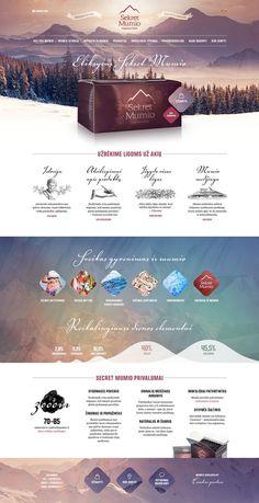 Mineral Substance on Behance Cool Web Design, Graphisches Design, Web Design Tips, Blog Design, Web Design Trends, Page Layout Design, Website Design Layout, Web Layout, Website Design Inspiration