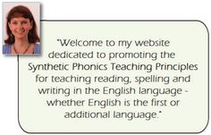 Debbie Hepplewhite's website, which has resources that promote the synthetic phonics method of teaching the English language