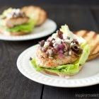 Grilled Chicken Sandwich with Kalamata Olive Tapenade