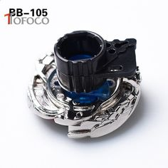 TOFOCO Nueva película Anime Spinning Top Fight BB105 Blue Pegasus Metal 4D Beyblade Fusion con Launcher Warrior Toys para niño Kid Spinning Top, Rings For Men, Jewelry, Toys, Top, Men Rings, Jewlery, Jewerly, Schmuck