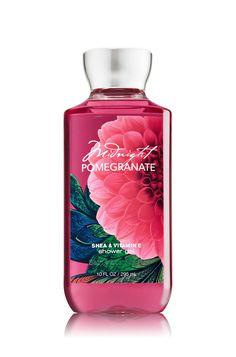 Midnight Pomegranate Shower Gel - Signature Collection - Bath & Body Works