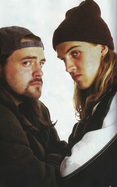 Jay and Silent Bob <3 (Love all the movies they appear in...)